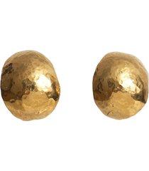kolczyki shell xl złocone