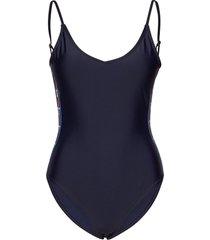 rhodes swimsuit baddräkt badkläder blå svea