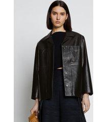 proenza schouler leather jacket black 12