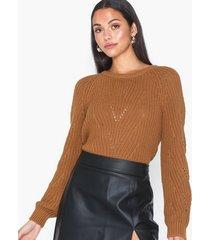 object collectors item objcammy arianna l/s knit pullover stickade tröjor