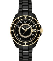 women's coach preston ceramic bracelet watch, 32mm