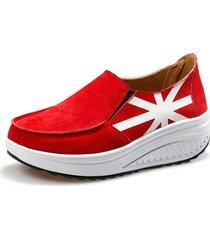 scarpe a dondolo in pelle