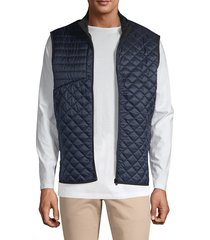 greyson men's sioux quilted camo vest - ghost wolf - size s