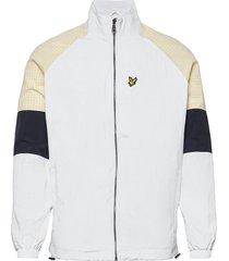 gingham mix track jacket dun jack wit lyle & scott