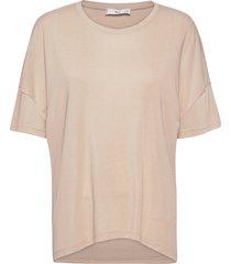 short sleeve cotton t-shirt t-shirts & tops short-sleeved creme mango