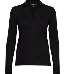 sweaters stickad tröja svart esprit collection