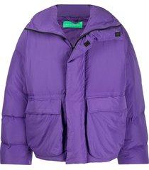 a.a. spectrum oversized down coat - purple