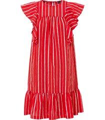 abito con balza (rosso) - bodyflirt