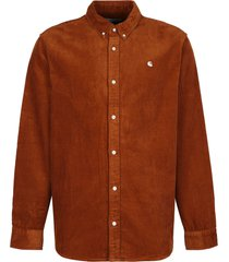 carhartt madison corduroy shirt