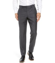 men's ted baker london jefferson flat front wool dress pants
