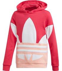 huvtröja large trefoil hoodie