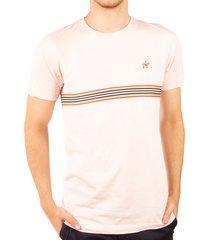 camiseta fondo entero cinta rosado claro ref. 107081119