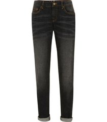 jeans elasticizzati authentic a sigaretta (nero) - john baner jeanswear
