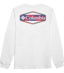 columbia men's hood long sleeve t-shirt
