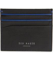 men's ted baker london kraspa leather card case -