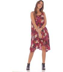 vestido de flores 100618-00