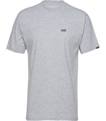 left chest logo tee t-shirts short-sleeved vans