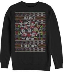 fifth sun men's mickey six sweater long sleeve t-shirt