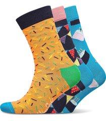 happy birthday gift box underwear socks regular socks multi/mönstrad happy socks