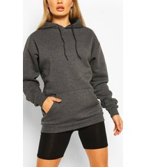 the mix & match oversized hoodie, charcoal