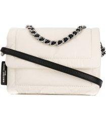 marc jacobs bolsa pillow mini - branco