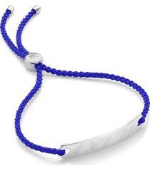 sterling silver havana mini friendship bracelet