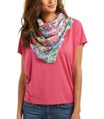 echo 23 floral bandana square scarf