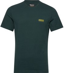 b.intl small logo tee t-shirts short-sleeved grön barbour
