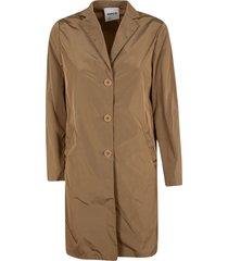 aspesi long length buttoned jacket