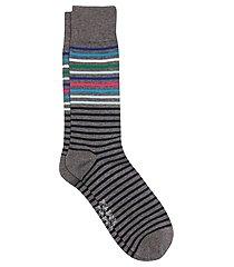 travel tech bright stripes dress socks, 1-pair
