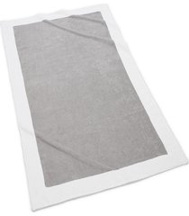 kassatex capri bath towel, size one size - grey