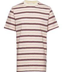 slater t-shirt t-shirts short-sleeved multi/mönstrad wood wood