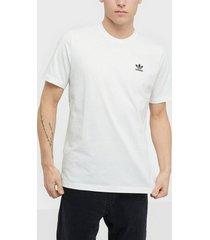 adidas originals essential t t-shirts & linnen vit
