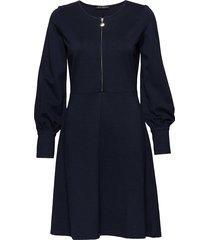 dress short 1/1 sleeve jurk knielengte blauw betty barclay