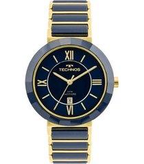 relógio technos ceramic feminino 2015ce/5a 2015ce/5a