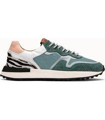 buttero sneakers futura colore verde acqua