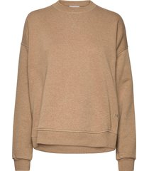 isoli sweat-shirt trui beige ganni