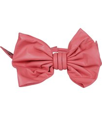 maison margiela oversized bow belt