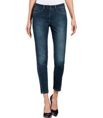 ankelkorta jeans alba moda blå