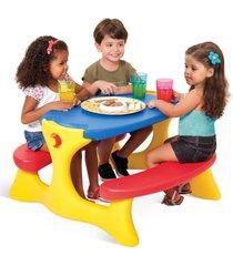 mesa recreio - bandeirante - incolor - menina - dafiti