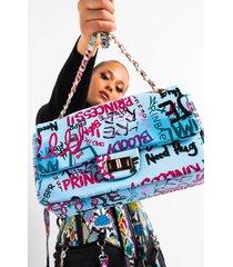 akira i can have it all graffiti purse