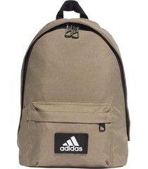 mochila marrón adidas classic
