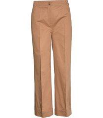 zena trousers vida byxor beige just female