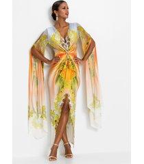 maxi jurk met applicaties