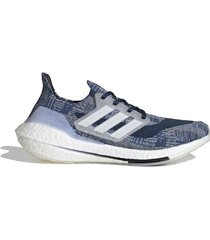 zapatilla azul adidas ultraboost 21 primeblue