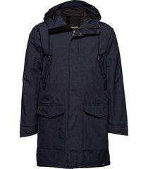 rain jkt from the sea padded m parka jacka blå tretorn