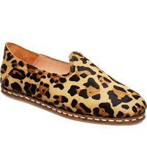 stb-khalo slipper leo loafers låga skor brun shoe the bear