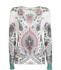 etro silk and cashmere sweater