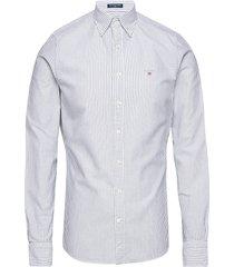 slim oxford banker bd skjorta business vit gant
