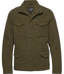 classic garment-dyed field jacket tunn jacka grön scotch & soda